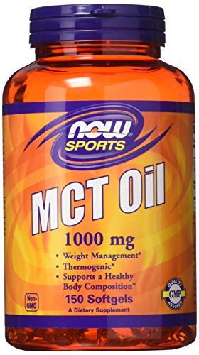 Now Foods MCT Oil Softgels, 1,000 mg, 150 Count (Pack of 2)