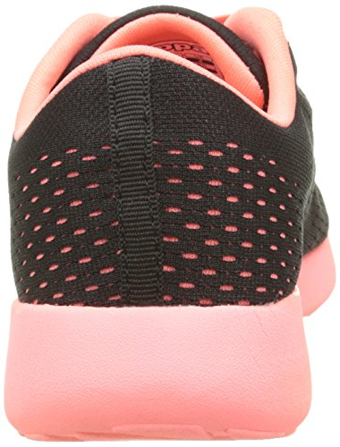 Kappa Delis, Baskets Basses Mixte Enfant Noir (Black/Red Coral)