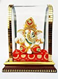#9: Beautiful Ganesh Idol For Car Dashboard And Home Decor Lord Ganpati Bappa Showpiece Hand work and perfect showpiece of Indian Handicrafts. Ideal For Car Dashboard Decor, Gift & Home Decor Place this Ganesh Ji in your temple or deck up in your car ON SALE NOW ! By Just Buy