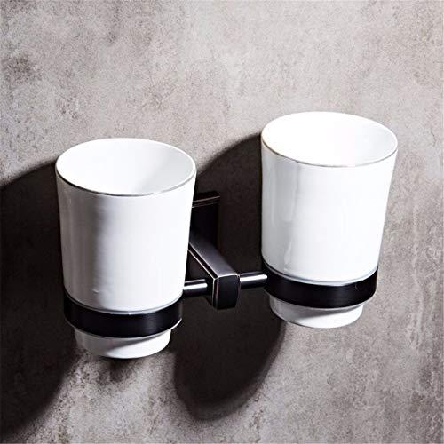 Badezimmer Zubehör Schwarz Antik Aufhänger Bad Schwarz Bronze Handtuchhalter Stacks, Double Cup -