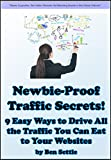 Newbie-Proof Traffic Secrets - 9 Easy Ways to Drive All the Traffic You Can Eat to Your Websites (English Edition)
