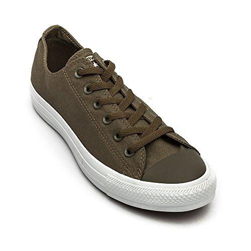 Converse AS Ox Can red M9696 Unisex-Erwachsene Sneaker surplus green (147069C)