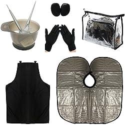 xnicx Peigne Pinceau Brosse Bol Pour Coloration Cheveux Teinture Décolorante Coiffure Coiffure Couleur Kit
