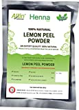 Allin Exporters Lemon Peel Powder Organic & Chemical Free Skin Cleanser 60 Gram 1 Packet