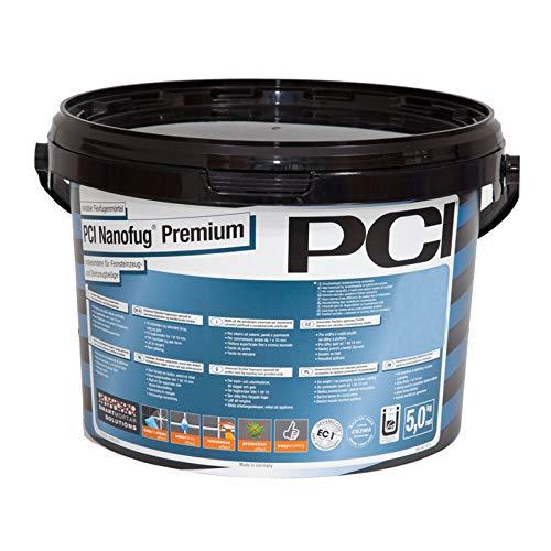 PCI Nanofug Premium - Variabler Flexfugenmörtel 5 kg-16 silbergrau