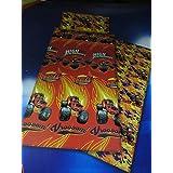 Nickelodeon - Juego Sábanas Blaze and the Monster Machines, para cama 105 cms.