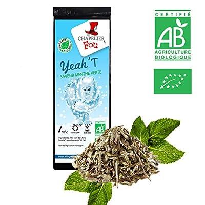 Thé vert menthe verte Bio - Sachet 100g vrac - ? Certifié Agriculture biologique ?
