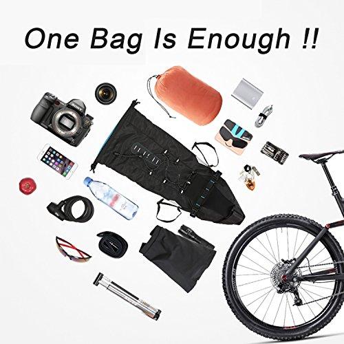 HZHY Wasserdicht Fahrrad Satteltasche Fahrrad Werkzeug Tasche Fahrrad Sitzverpackungen,Großartig für das Halten der Flaschen & Mappe & Werkzeuge & Schlüssels & Handys Typ 3