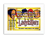 Wee Blue Coo Ladykillers Crime Comedy Guinness Sellers HOWERD UK Poster Picture Film...