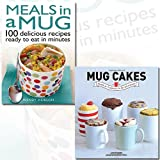 Meals in a Mug and Mug Cakes [Hardcover] 2 Books Bundle Collection - 100 delicious recipes ready to eat in minutes, Ready in Five Minutes in the Microwave