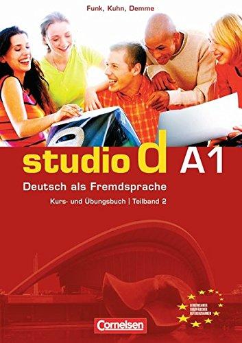 Studio D Kurs-Und Ubungsbuch MIT CD - Niveau A1 - Teilband 2 por Sabine Cornelsen