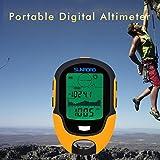Dailyinshop Multifunktionale FR500 tragbaren digitalen Höhenmesser Außengebrauch Barometer Gerät