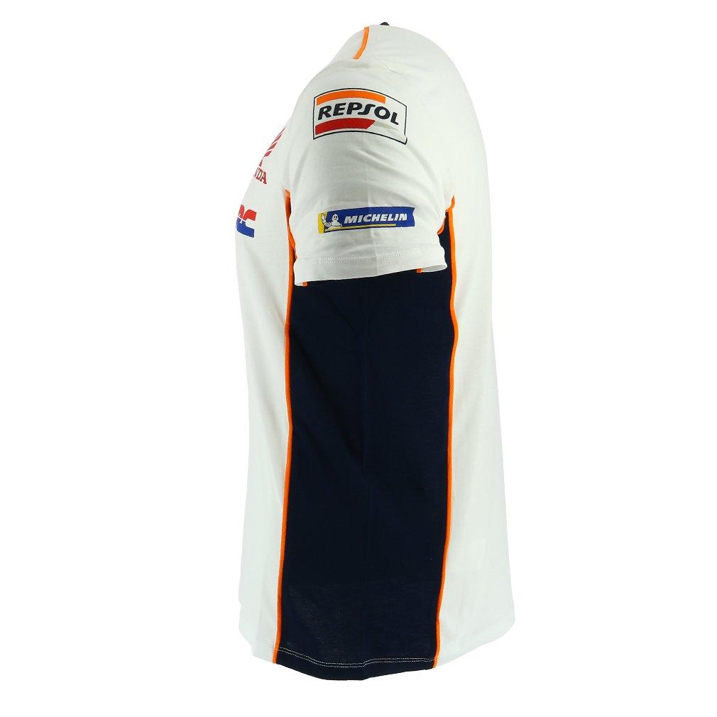 4c0cf6043666c Camiseta oficial del equipo Repsol Honda blanca