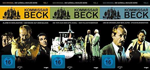 Die Sjöwall-Wahlöö-Serie, Teile 1-3 (6 DVDs)