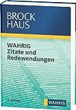 Brockhaus Wahrig Zitate und Redewendungen
