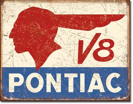 pontiac-v8-metal-sign-flach-new-31x40cm-vs3084