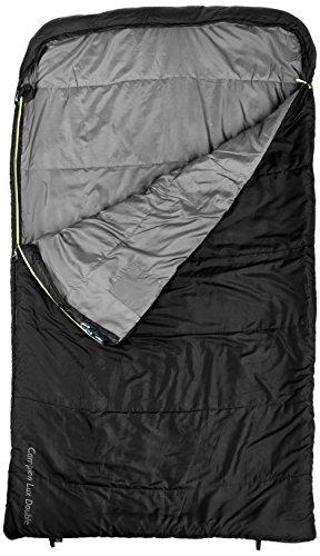 Outwell Erwachsene Schlafsack Campion Lux Doppelt Black, 225 x 140 cm (Erwachsene Für Doppel Schlafsack)