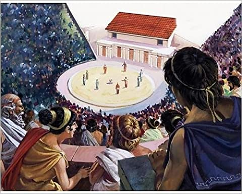 Photographic Print of Greek theatre