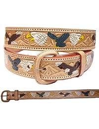 Cowboygürtel / Westerngürtel mit Weisskopfadler