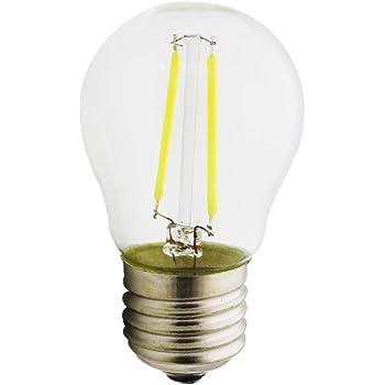 E27 Vendimia LED Edison Filamento Pelota de Bulbo G45 - Bombilla 2 Watt/ 4 Watt/ 6 Watt Luz LED - Luz blanca fría 6000k, Edison LED Bombilla, No Regulable.