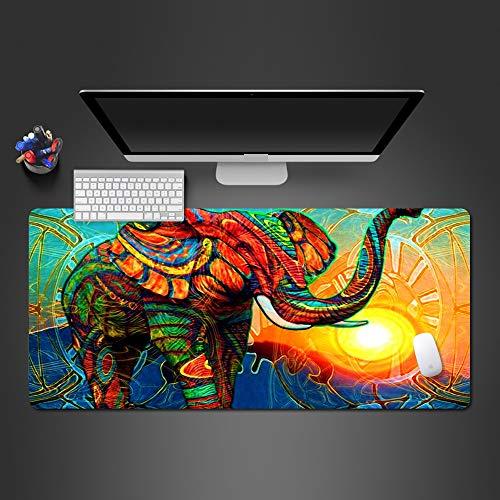 Farbe Elefant cool Mauspad hohe Qualität heißer Großhandel große Naht Gummi Mauspad Spiel Mauspad 900x300x2mm - Großhandel Spielkarten