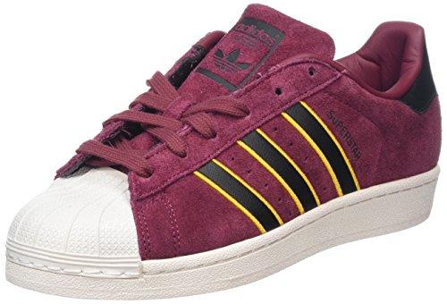 adidas Jungen Superstar Fitnessschuhe, Rot (Rojsld/Negbás/Amaadi 000), 38 EU (Jungen Adidas Basketball Schuhe)
