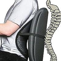 Cool Vent Mesh Rücken Lendenwirbelstütze für Büro Stuhl, Auto, und andere preisvergleich bei billige-tabletten.eu