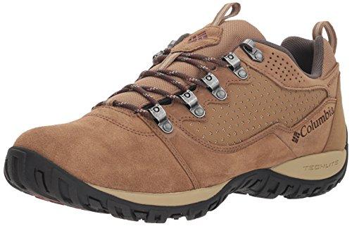 Columbia Peakfreak Venture Low Suede WP, Zapatillas de Senderismo para Hombre, Marrón (Delta, Deep Rust), 44 EU