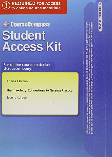 Textbook Resourses for Pharmacology: Connections to Nursing Practice -- Access Card