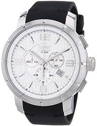 Esprit Herren-Armbanduhr XL Ourea day Chronograph Quarz Silikon EL101921F01
