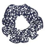 Chouchou coordonné pour cheveux Fille 4-10 ans Made in Italy - Bleu - Taille Unique