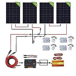 3/% solartronics Solarmodule Monokristallin Photovoltaik T/ÜV gepr/üft in verschiedenen Gr/ö/ßen Nennleistung Pmax 10 W