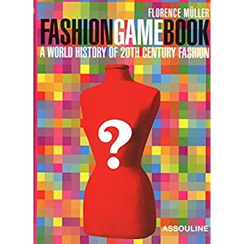 FASHION GAME BOOK ANGLAIS.