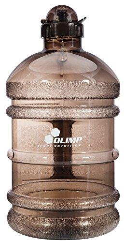 Preisvergleich Produktbild Olimp Sport Nutrition Water Jug Gym Bottle Wasserflasche Trinkflasche Wasser Gallon Training, Fitness Sport 2.2 Liter (Grau)