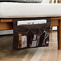 3-otters organizer portaoggetti a letto, divano organizer portaoggetti, tavolo cabinet organizer portaoggetti, marrone