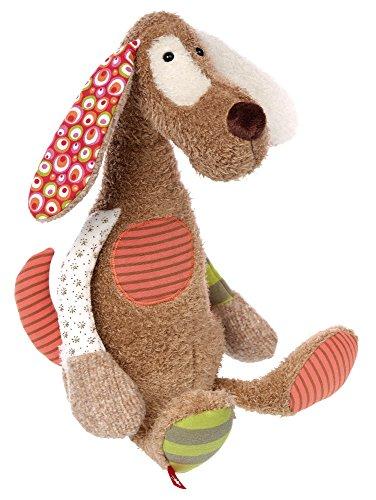 Preisvergleich Produktbild sigikid, Mädchen und Jungen, Stofftier Hund Sweety, Braun/Bunt, 38375