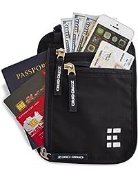 Portadocumenti da Collo con Blocco RFID - Portafolgio da Viaggio & Porta Passaporto