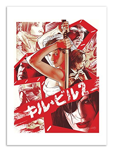 Art-Poster 50 x 70 cm - Kill Bill vol.2 - Joshua Budich
