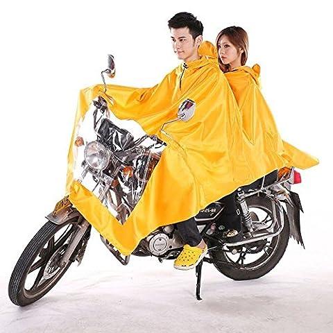 ungfu Cool 1pc pour moto scooter Vélo électrique double imperméable pour chien