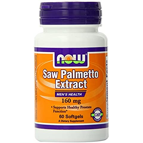 NOW Foods Saw Palmetto 160mg, 60 Softgels