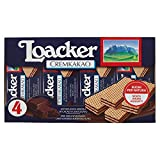 Loacker Wafer Multi Cremkakao - Pacco da 4 x 45 gr - Totale: 180 gr