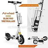 E-Scooter Elektrischer Tretroller mit Motor klappbar AIRWHEEL Z3. Elektro-Tretroller für Erwachsene. 24 Monate GARANTIE