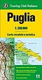 Puglia 1:200.000. Carta stradale e turistica