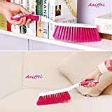 #10: Aaiffel Long Bristle Carpet Upholstery Cleaning Brush for Home Car Carpets, Sofas, Curtains, Upholstery (Random Colors)