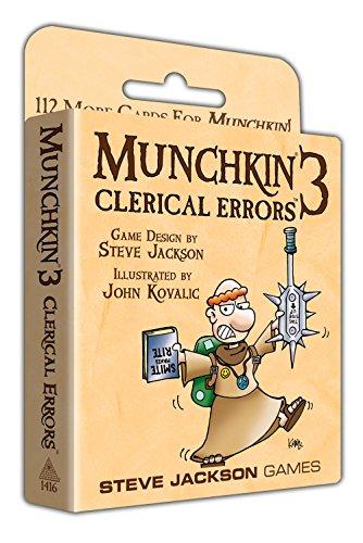 Steve Jackson Games - Munchkin 3 - Revised Color Card Game (Stellen Sie Sich Spielzeug)