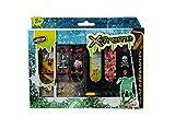 Simba 103301671 - Finger Skateboard 6er Set 9cm