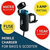 Automotive Battery Charger Best Deals - Cingularity CG-102 Go-On G1 USB Mobile Charger for Bikes and Scooters (Black)