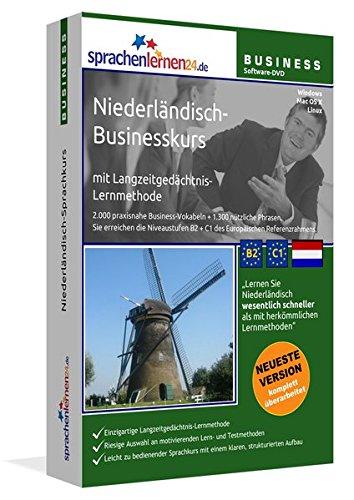 Niederländisch-Businesskurs mit Langzeitgedächtnis-Lernmethode von Sprachenlernen24: Lernstufen...