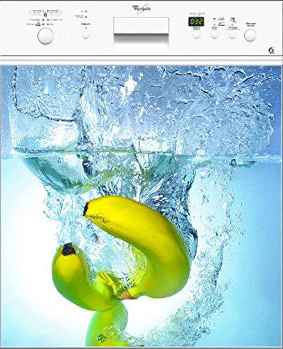 Preisvergleich Produktbild stickersnews–Magnet Spülmaschine Banane Splatch 60x 60cm OEM 019