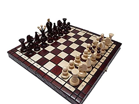 Soild wood, Small Royal Chess